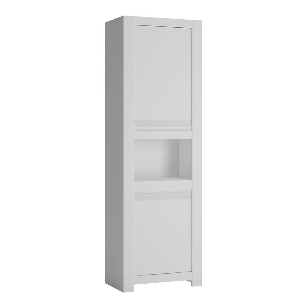 Alita 2 Door Chiffonier in Alpine White
